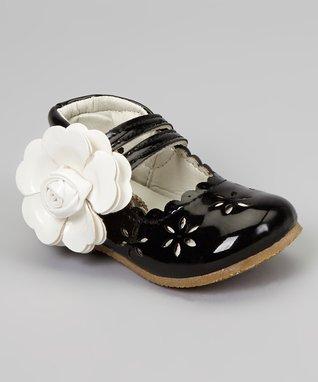 Silver Lola Ankle Strap Flat