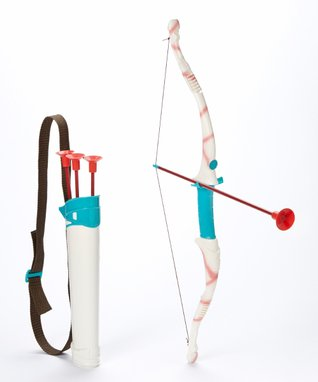 Lanard Sugar Shot Long Bow & Arrow Play Set
