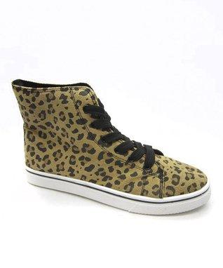 Blue Suede Shoes Black Hi-Top Sneaker
