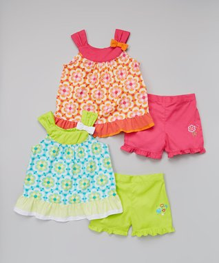 Colored With Cheer: Girls' Sets