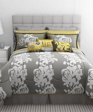 South Beach Rose 10-Piece Bedding Set