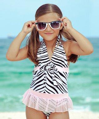 Rainbow Splash: Kids' Swimwear