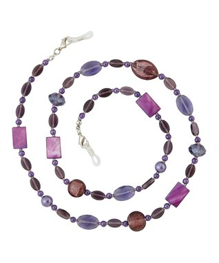 Silvertone Phoenix Eyewear Necklace