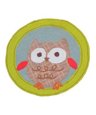 Owl-Shaped Rug