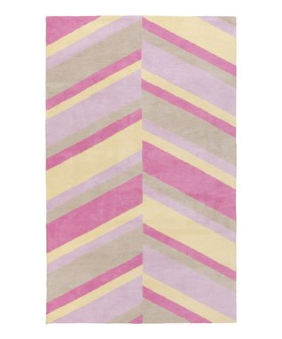 Pink Endless Knot Abigail Rug
