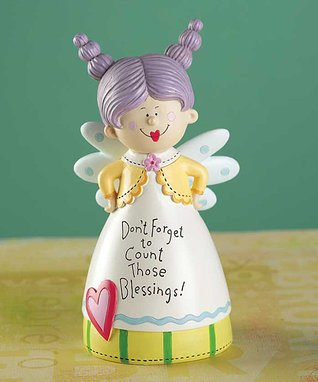 'Count Those Blessings' Figurine