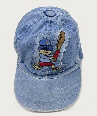 Il Trenino Light Blue Denim Baseball Cap