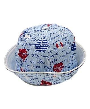 Il Trenino Light Blue Sailboat Sailor Hat