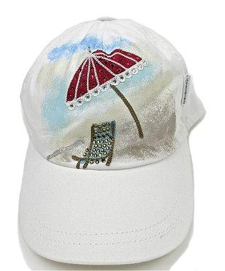 Il Trenino White & Purple Violet Baseball Hat