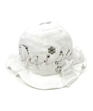 Il Trenino White & Purple Floral Bucket Hat