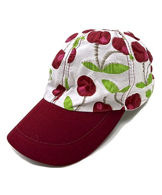 Il Trenino White & Teal Heart Boat Hat