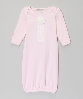Pink Rose Gown - Infant