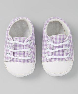 Lime & White Gingham Skirt - Infant