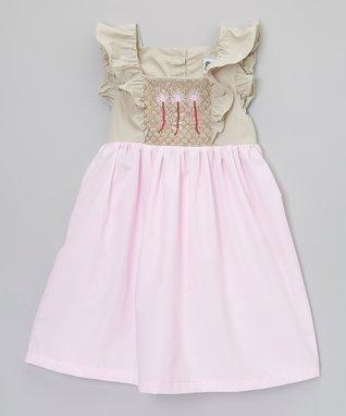 Pink Flower Smocked Dress - Infant, Toddler & Girls