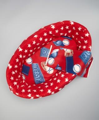 Red & Blue All-American Three-Piece Bedding Set