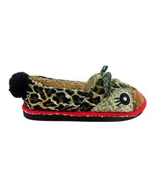 TigerBear Republik Tan Leolita Beastie Slip-On Shoe