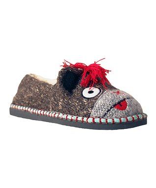 TigerBear Republik Gray Monkey Hawk Beastie Slip-On Shoe