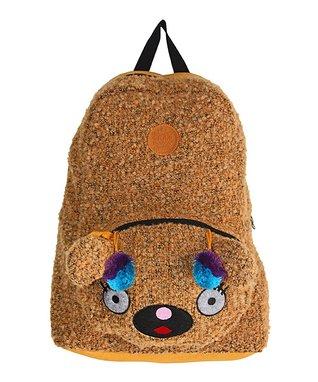 TigerBear Republik Brown Girwaffle Beastie Backpack
