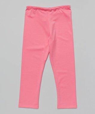 Hot Pink Leggings - Toddler & Girls