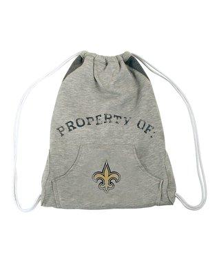 New Orleans Saints Hoodie Drawstring Bag