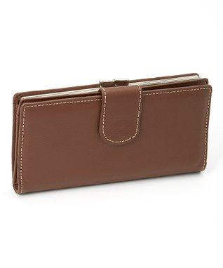 Mundi Brown Suburban Clutch