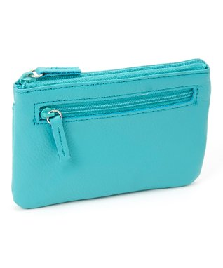 Mundi Turquoise Window Coin Purse