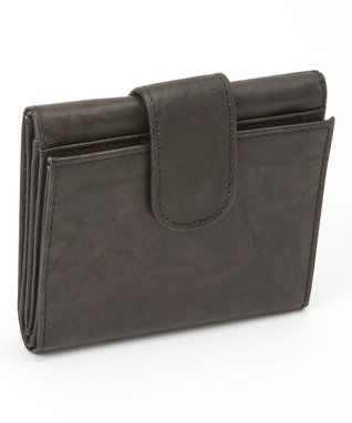 Mundi Brown Snap Triplex Wallet