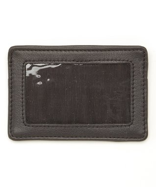 Mundi Brown Snap Card Case