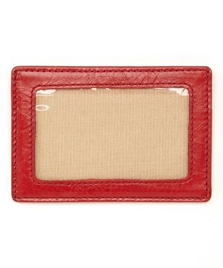 Gemelli International Red Window Card Case