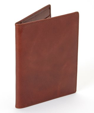 Gemelli International Tan Passport Cover