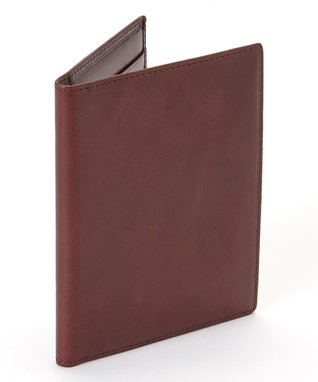 Gemelli International Brown Passport Cover