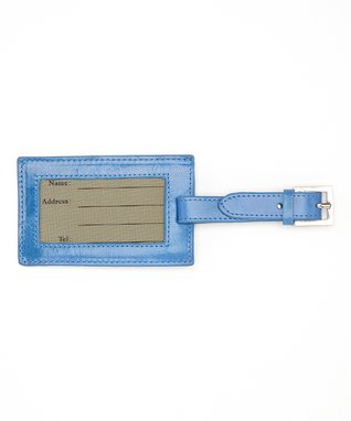 Gemelli International Blue Luggage Tag