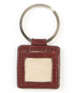 Gemelli International Black Picture Key Fob