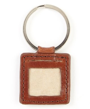 Gemelli International Brown Picture Key Fob