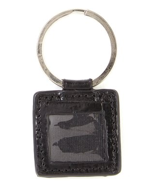 Gemelli International Blue Picture Key Fob