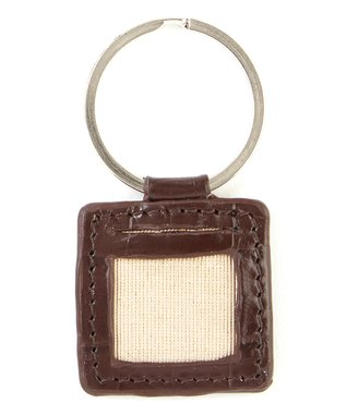 Gemelli International Tan Picture Key Fob