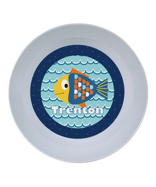 Blue Fish Personalized Place Mat