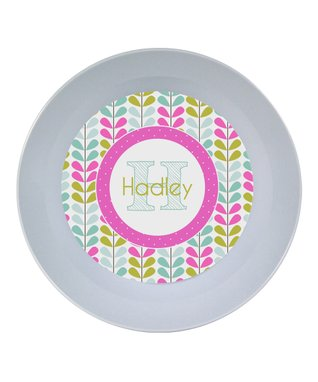 Pink Floral Personalized Place Mat