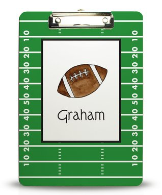 Game On Personalized Growth Chart Wall Decal