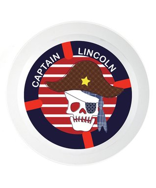 Ahoy Crabby Personalized Place Mat