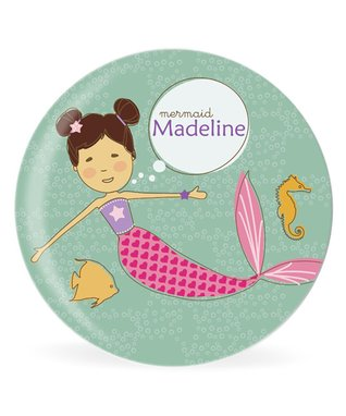Blonde Mermaid Personalized Place Mat