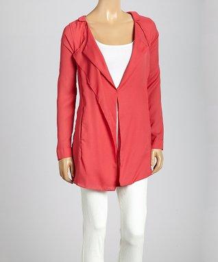 Trisha Tyler Black One-Button Jacket