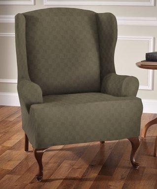 Cream Plush Love Seat Furniture Protector