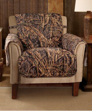Patchwork Armchair Protector