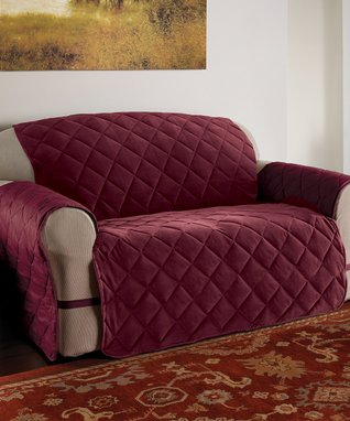 Burgundy Velvet Ultimate Furniture Protector
