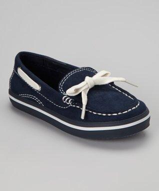 ENZO Navy Blue Sanremo Sali Boat Shoe