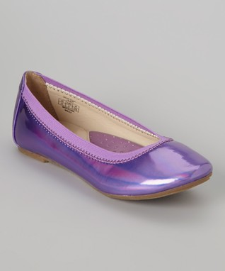 ENZO Lilac Silvia Flat