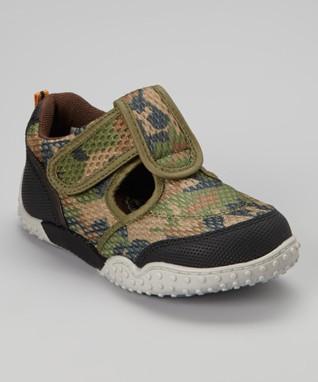 ENZO Green Camo Sneaker