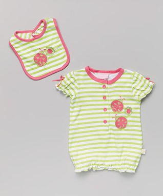 2B Real Green Swing Dress & Diaper Cover - Infant