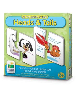 Head & Tails Match-It Puzzle Card Set